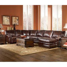 Vista  Chocolate 3piece Sectional With Right Chaise By