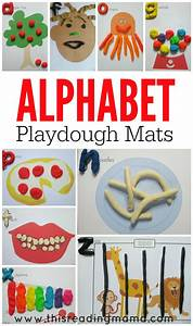alphabet playdough mats free printable mats With play letters