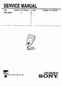 Sony Tv Service Manuals And Schematics  U2014 Repair