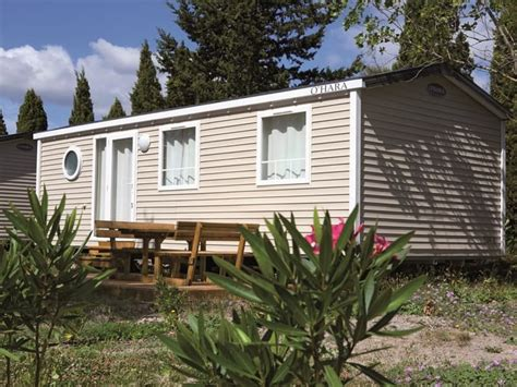 location 2 chambres location mobil home pas cher 2 chambres 6 places dans l 39 aude