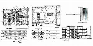 Electrical Layout Plan  Riser Diagram And Sectional