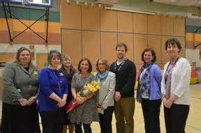 Cindy White Of Pes Named Special Education Teacher Of The Year