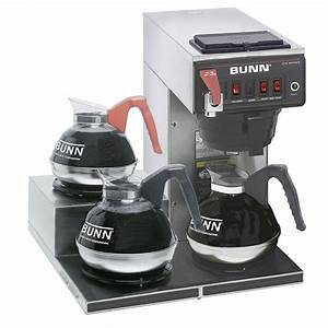 Bunn Coffee Maker Cw Series Instructions