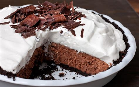 recipe for easy chocolate pie chocolate mousse pie recipe chowhound