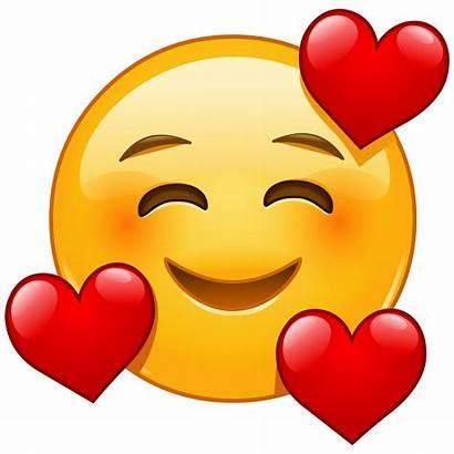 Emoji Heart Hearts Smiling Emojis Face Emoticon
