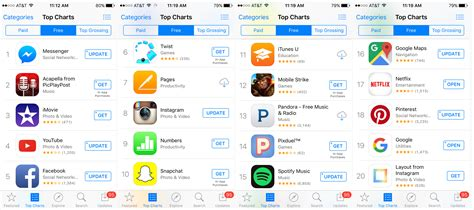 free on iphone is apple boosting rankings of its own apps on app store s