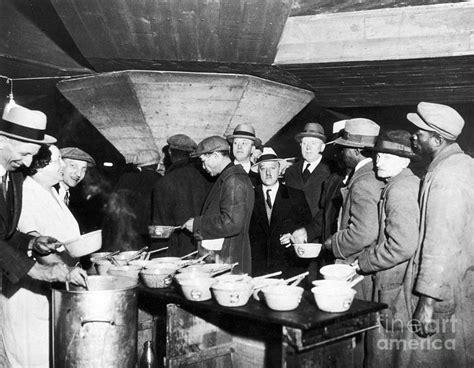 soup kitchen in soup kitchen 1931 photograph by granger