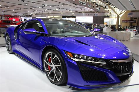 Nsx Curb Weight by Acura S 2017 Nsx Makes Canadian Debut At Cias