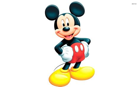 Mickey Mouse Head Wall Decals - Elitflat