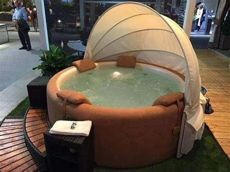canopy softub hot tub garden pool hot tub jacuzzi outdoor