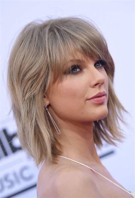 medium length haircuts  thick hair hairstyles update