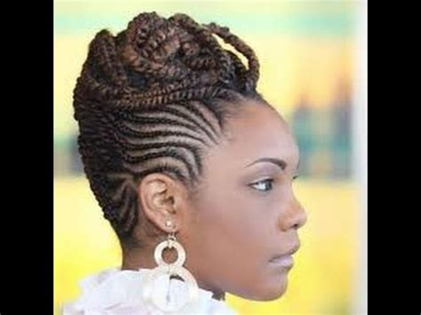 Black Cornrow Hairstyles Pictures by Best Cornrow Updo Hairstyles For Black