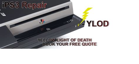 how to fix yellow light of death ps3 pin london lights big ben at night city street england