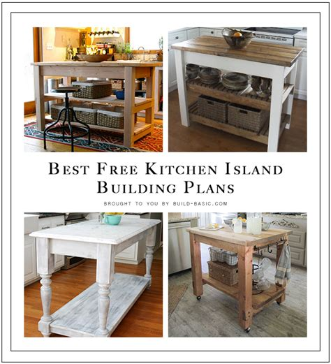 plans to build a kitchen island best free kitchen island building plans build basic