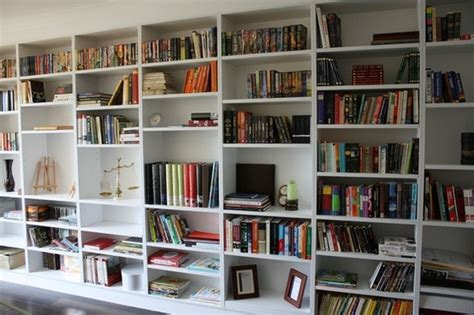 A Whole Wall Of Book Shelves