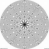 Coloring Pages Pattern Adults Sheets Symmetry Popular sketch template