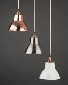 Brushed steel industrial pendant ceiling light moccas