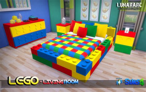deco chambre lego my sims 4 lego bedroom set by lunararc