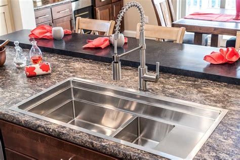 galley kitchen sink kitchen sinks pennwest homes 1176