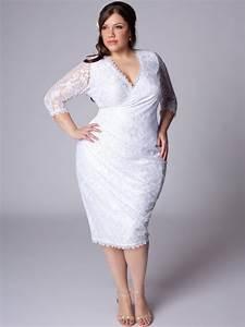 plus size white dresses cocktail 2014 2015 fashion With plus size white wedding dress