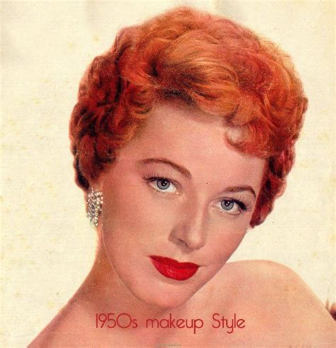 1950s Hairstyles And Makeup by Vintage 1950s Makeup Style Guide Vintage Makeup Guide