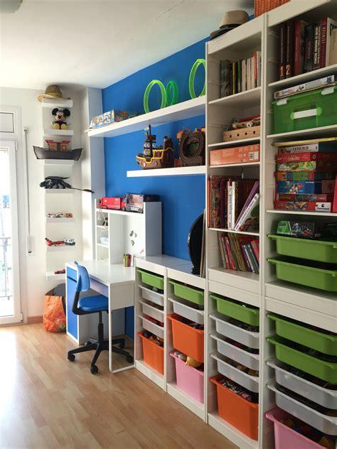 ikea muebles muebles trofast de ikea con escritorio micke y estanteria