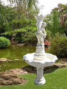 Fontaine A Eau Exterieur : 11 best images about fontaine de jardin pierre et fonte on ~ Dailycaller-alerts.com Idées de Décoration