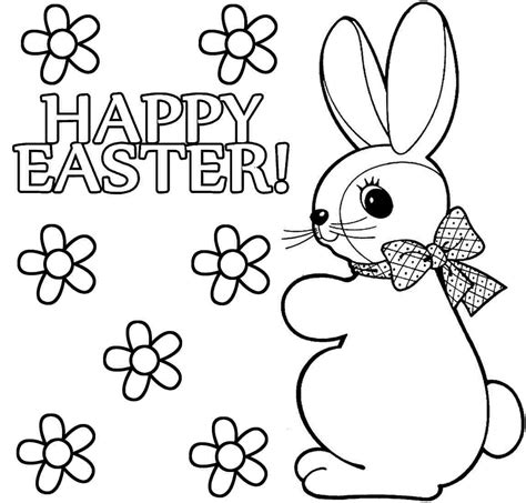 Color Pages Easter by Happy Easter Coloring Pages Coloringsuite