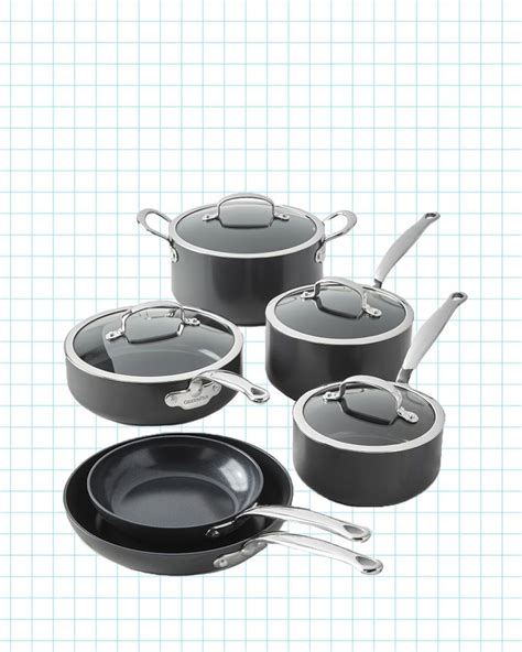 ceramic cookware greenpan pans sets kitchen nonstick piece pots cooking rated experts according revolution gh