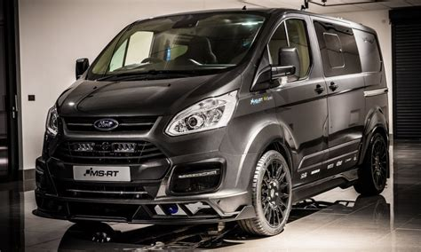 Msrt Gives Transit Custom Rallyinspired Styling Car