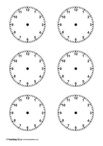 blank clock templates clock template blank clock clock