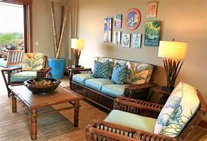 Kukio Resort Home - Tropical - Living Room - hawaii - by