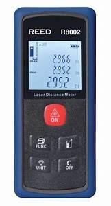 Mesureur De Distance Laser Portable : reed r8002 mesureur de distance laser 45m 148pi ~ Edinachiropracticcenter.com Idées de Décoration