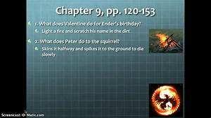 Study Guide Questions Enders Game Chapters 8-10