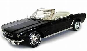Modellauto Ford Mustang : ford mustang cabrio 1964 1 2 schwarz modellauto 73145 ~ Jslefanu.com Haus und Dekorationen