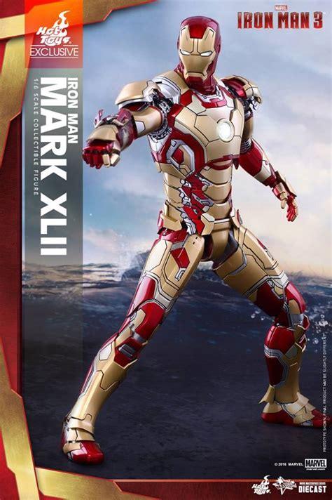hot toys iron man  iron man mark xlii   version
