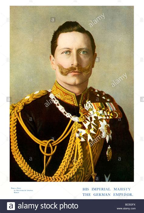 Kaisar Image by Kaiser Wilhelm Ii 1901 Colour Portrait Photograph Of The