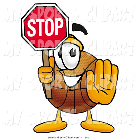 Cartoon Stop Sign Clip Art