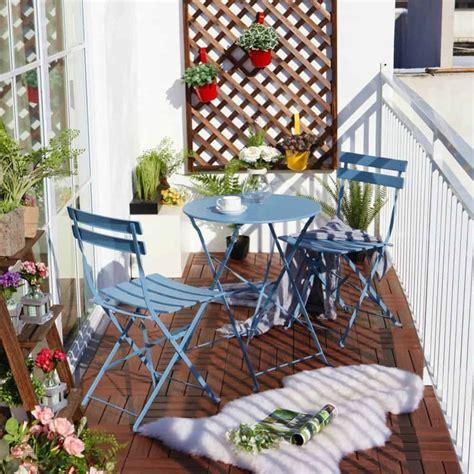 balcony chair  table design ideas  urban outdoors
