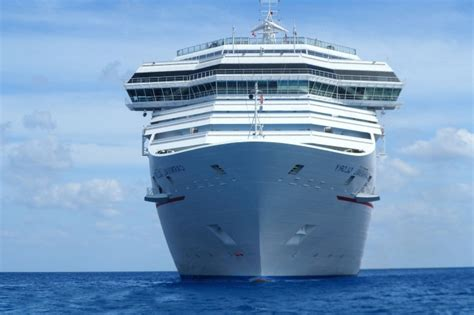 picture cruise ship water ocean sea blue sky