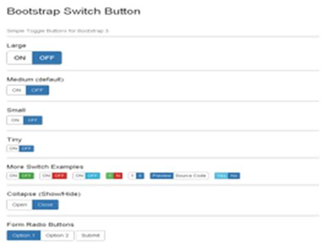 Bootstrap Snippet. Bootstrap 3 Toggle Switch Buttons