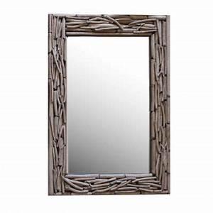 Miroir Bois Flotté : miroir castorama ~ Teatrodelosmanantiales.com Idées de Décoration