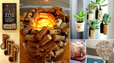 magnificent diy projects     wine corks