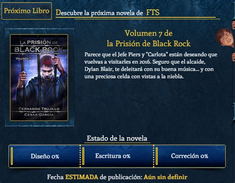 La Prision De Black Rock Volumen 7 Edition by Entre Libros Saga La Prisi 243 N De Black Rock Fernando