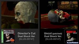 Resident Evil Director's Cut Version vs. Uncut Version ...