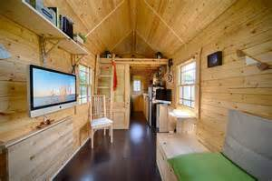 pictures of small homes interior live a big in a tiny house on wheels