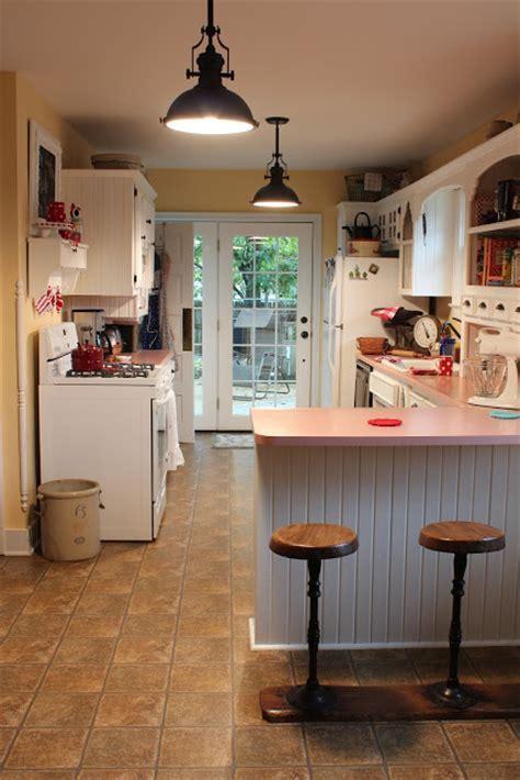 Catherine Holman Folk Art: New Cottage Kitchen Light Fixtures