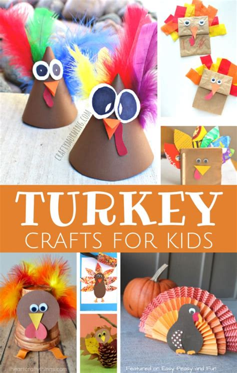 turkey crafts  kids wonderful art  craft ideas