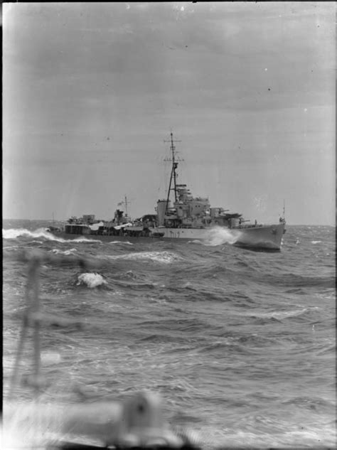 Ship Quadrant by Hmas Quadrant Underway In Choppy Seas The Ship Originaly
