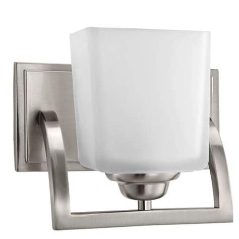 hton bay vanity light hton bay 2 light brushed nickel vanity light gjk1392a 2